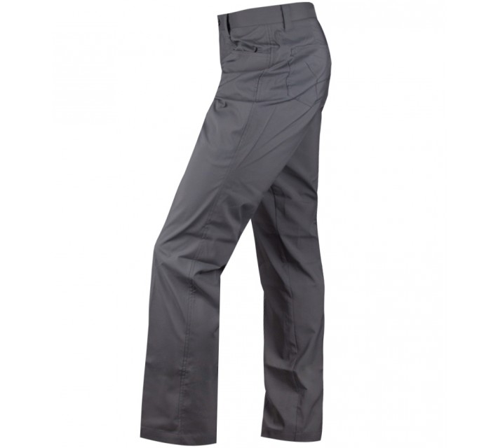 HOLLAS SOLID FIVE POCKET PANT CASTLEROCK - CORE