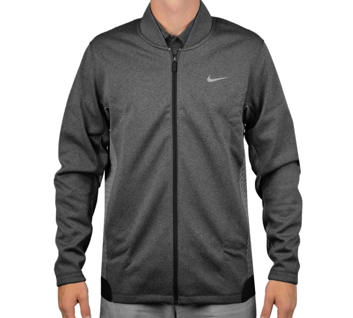TIGER WOODS HYPERVIS FULL ZIP JACKET BLACK - AW15 CLOSEOUT