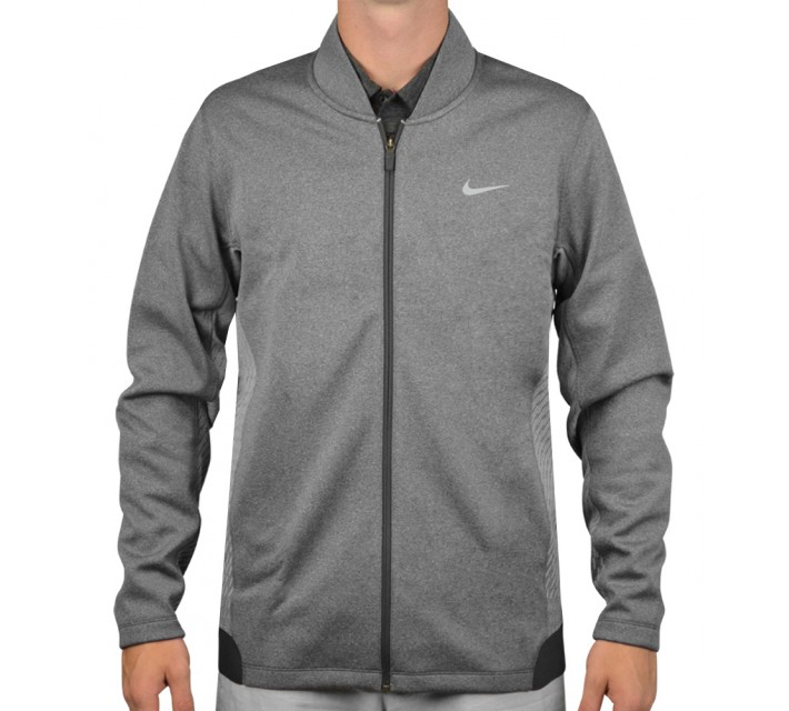 TIGER WOODS HYPERVIS FULL ZIP JACKET DARK GREY - AW15 CLOSEOUT