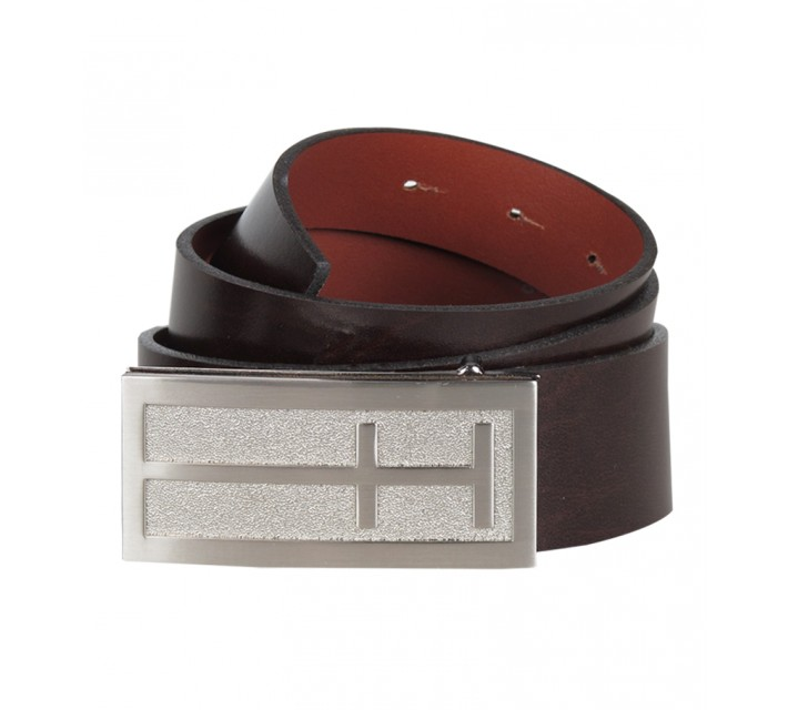 HOLLAS ICON GOLF BELT BROWN - AW15