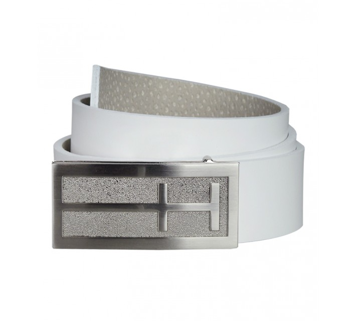 HOLLAS ICON GOLF BELT WHITE - AW15