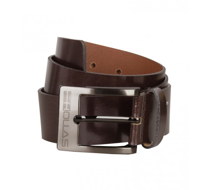HOLLAS TRADITIONAL BELT BROWN - AW15