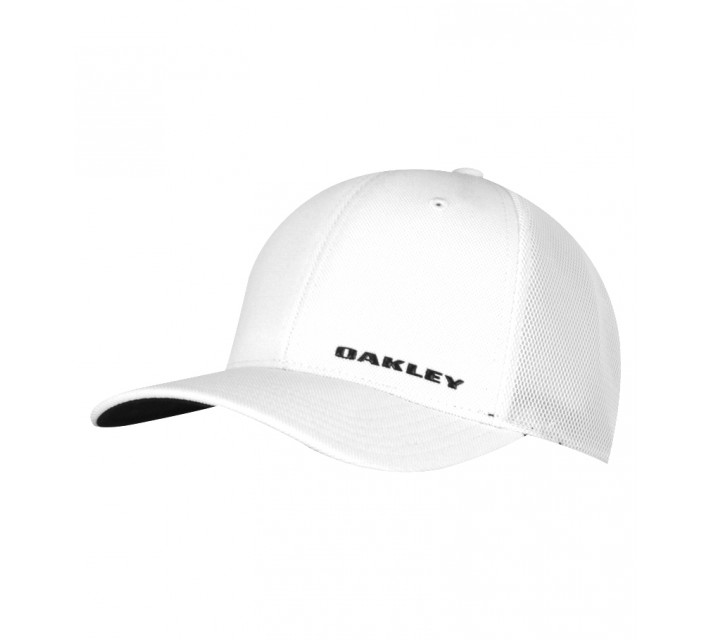 OAKLEY SILICONE BARK TRUCKER HAT 4.0 WHITE - SS16