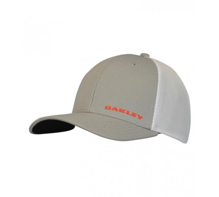 OAKLEY SILICONE BARK TRUCKER HAT 4.0 STONE GREY - AW15