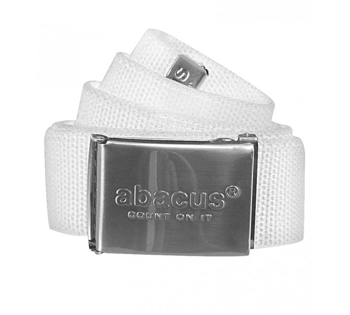 ABACUS HIRSEL BELT WHITE - SS16
