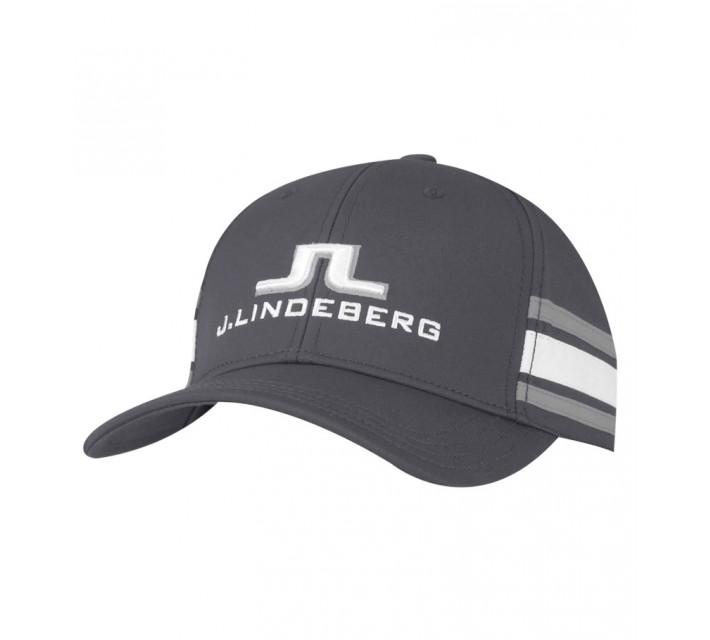 J. LINDEBERG ABER STRETCH TECH CAP BLUE GREY - AW15