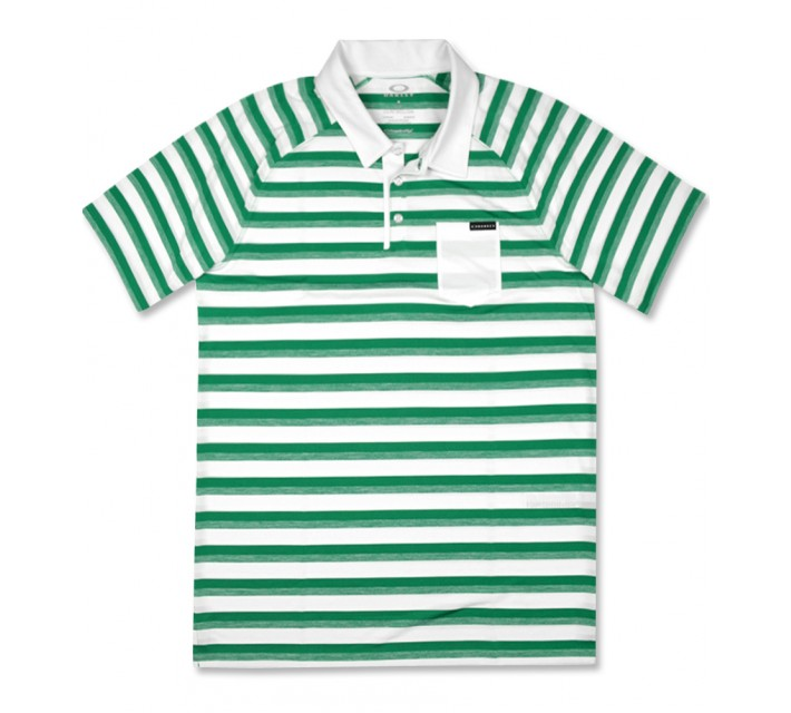 OAKLEY ACE STRIPE POLO PARAKEET - SS16