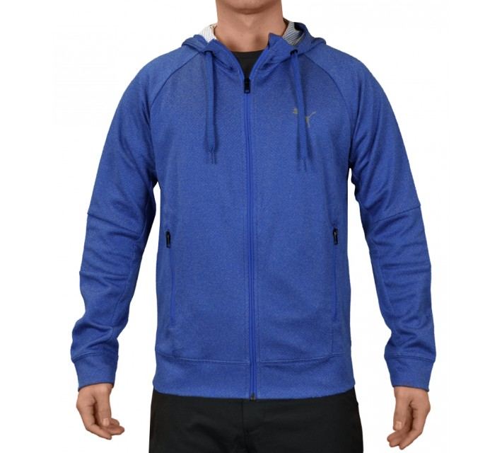 PUMA FITNESS ACTIVE P48 JACKET STRONG BLUE HEATHER - SS15