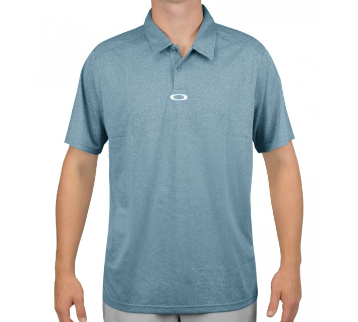 OAKLEY ADAMS GOLF POLO AURORA BLUE - AW15