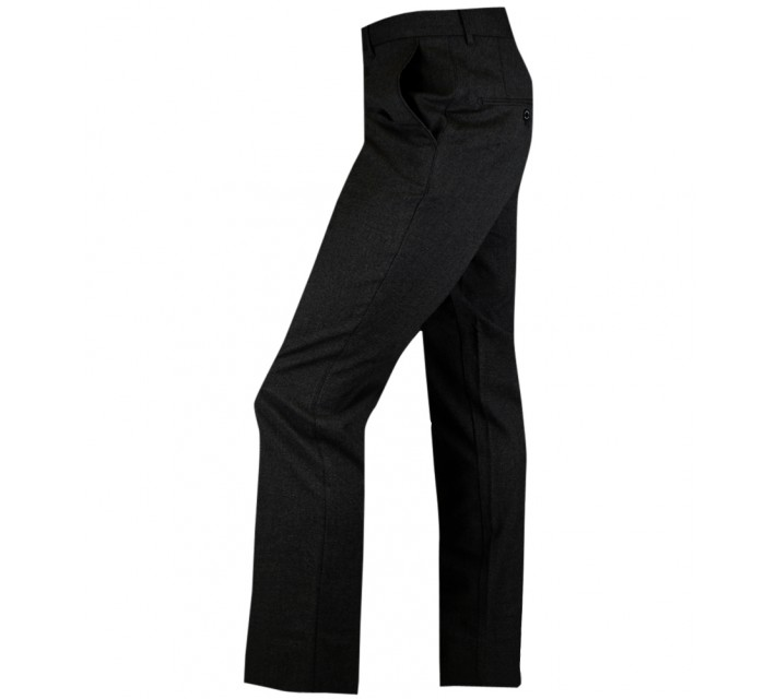 J. LINDEBERG ADNOT NARROW STRETCH FLANNEL PANTS BLACK - AW15