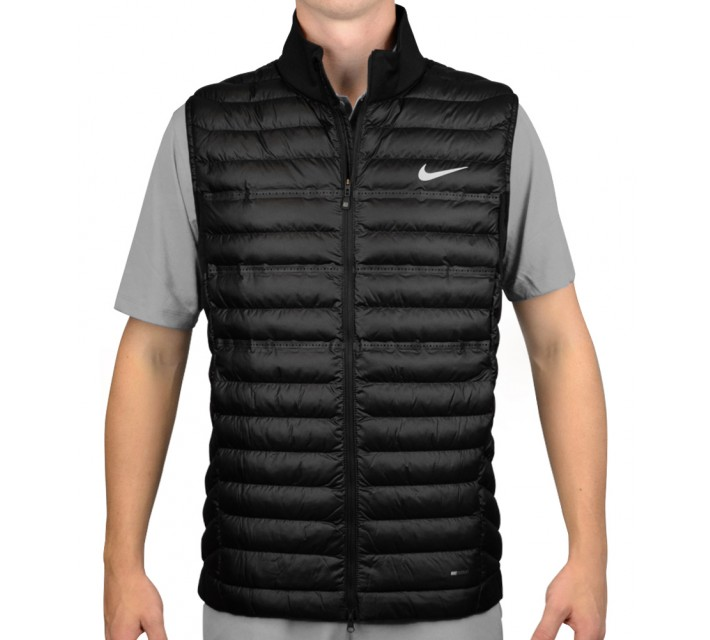 NIKE AEROLOFT POLY FILLED VEST BLACK - AW15 CLOSEOUT