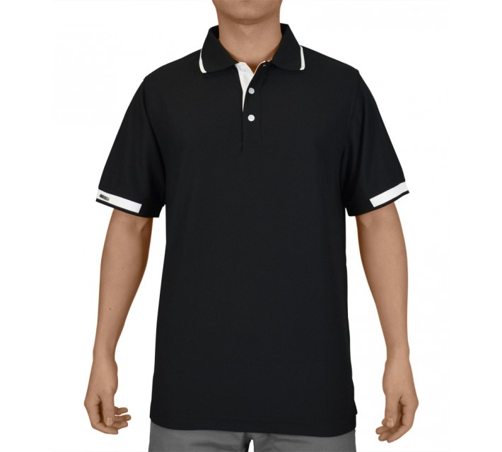 AUR COALDALE GOLF POLO BLACK - SS15