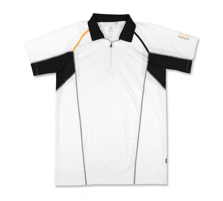 ABACUS ALBATROSS POLO WHITE/BLACK - SS16