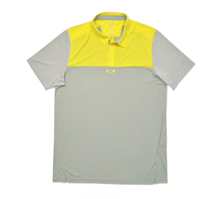 OAKLEY ALIGNMENT POLO BLAZING YELLOW - SS16