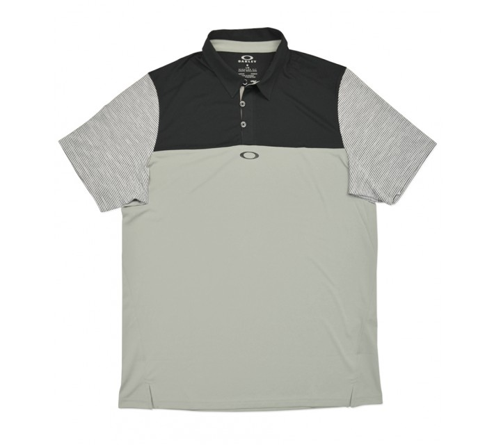 OAKLEY ALIGNMENT POLO STONE GREY - SS16
