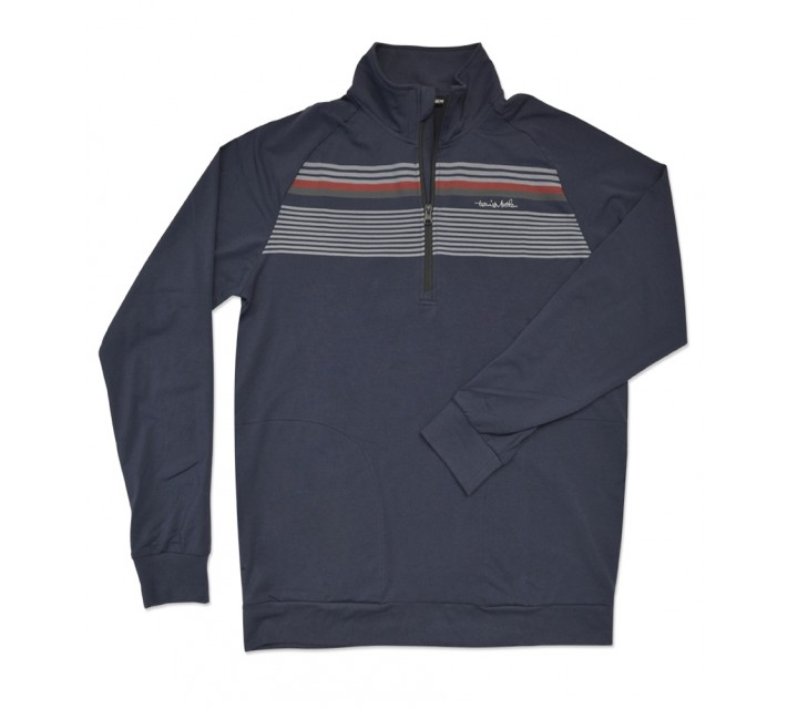 TRAVISMATHEW ANCHORAGE PULLOVER INSIGNIA BLUE - SS16