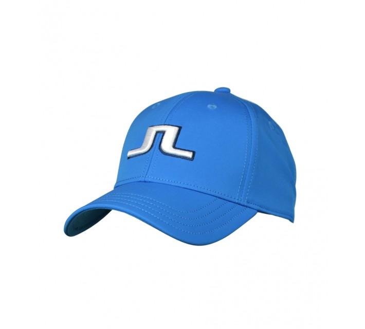 J. LINDEBERG ANGUS TECH STRETCH CAP ELECTRIC BLUE - AW16