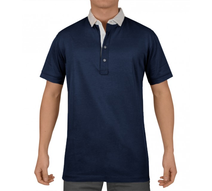 DEVEREUX ARGO GOLF POLO NAVY - SS15