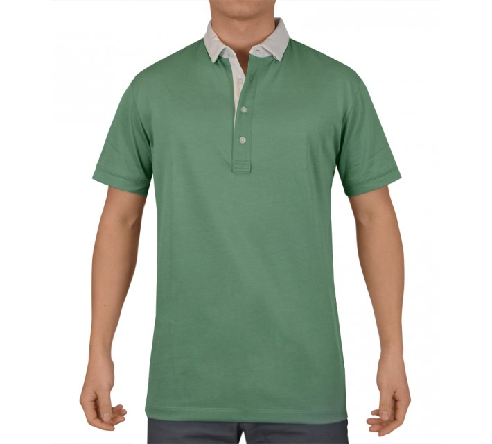 DEVEREUX ARGO GOLF POLO SAGE - SS15