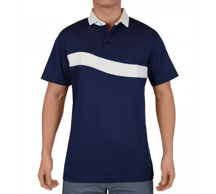 DEVEREUX ARISTOTLE GOLF POLO NAVY - SS15