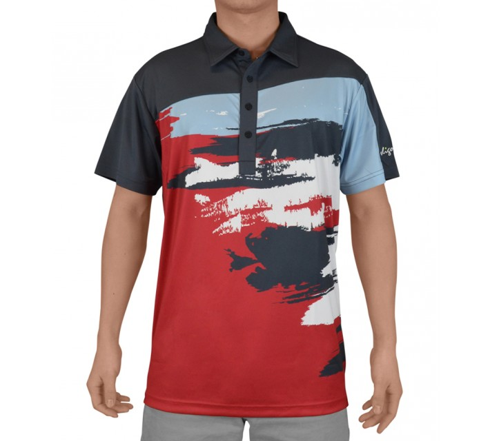 SLIGO GOLF SHIRT ASHER SINISTER - SS15