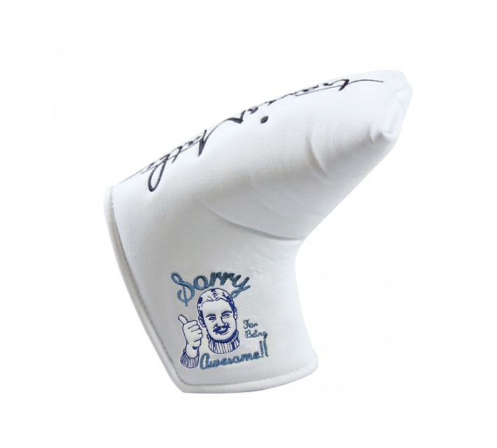 TRAVISMATHEW AWESOME PUTTER COVER WHITE - AW16
