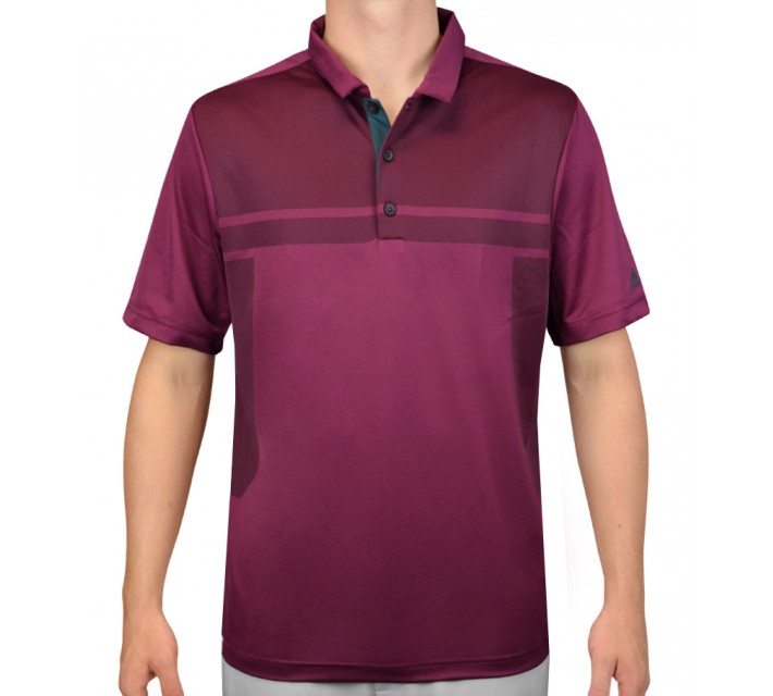 ADIDAS CLIMACOOL MATTE BODY POLO TRIBE BERRY - AW15