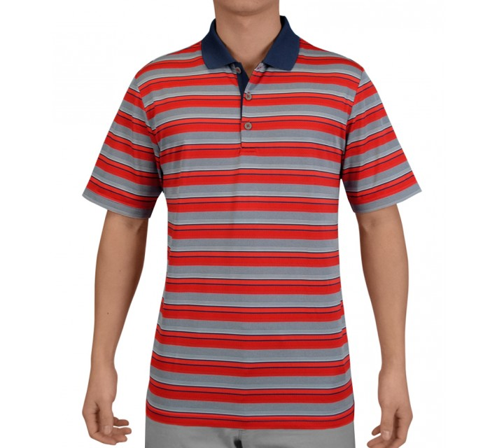 ADIDAS CLIMACOOL CLASSIC STRIPE POLO NIGHT MARINE - SS15