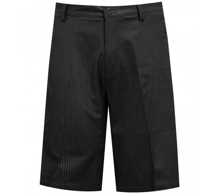 ADIDAS BROKEN PINSTRIPE GOLF SHORT BLACK - SS15