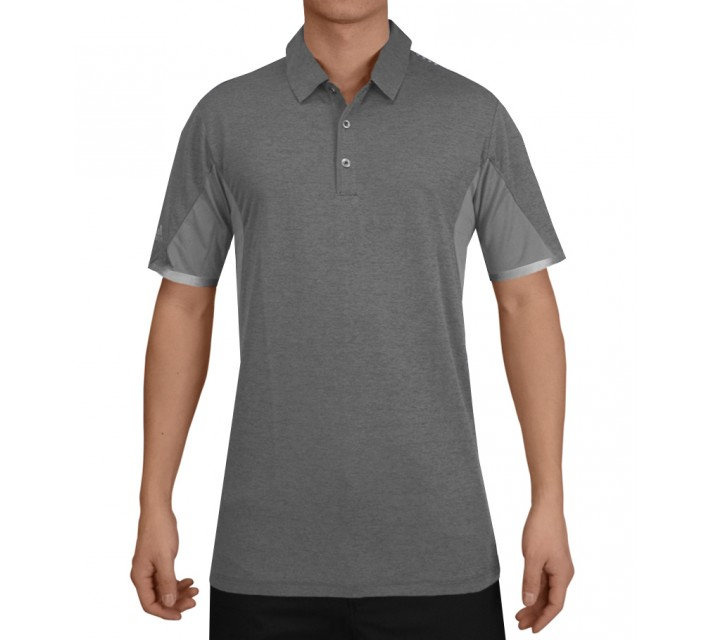 ADIDAS CLIMACHILL ENERGY MOTION BONDED HEATHER POLO VISTA GREY - SS15