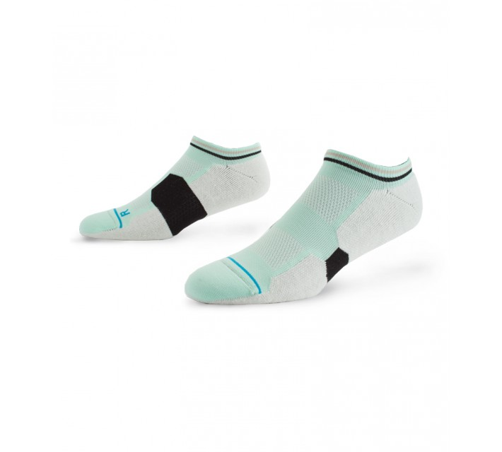 STANCE GOLF SOCKS BACK NINE LOW SEA FOAM - AW15