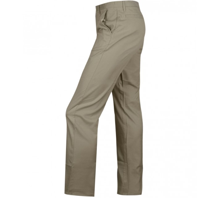 MATTE GREY BADGE GOLF PANT KHAKI - CORE