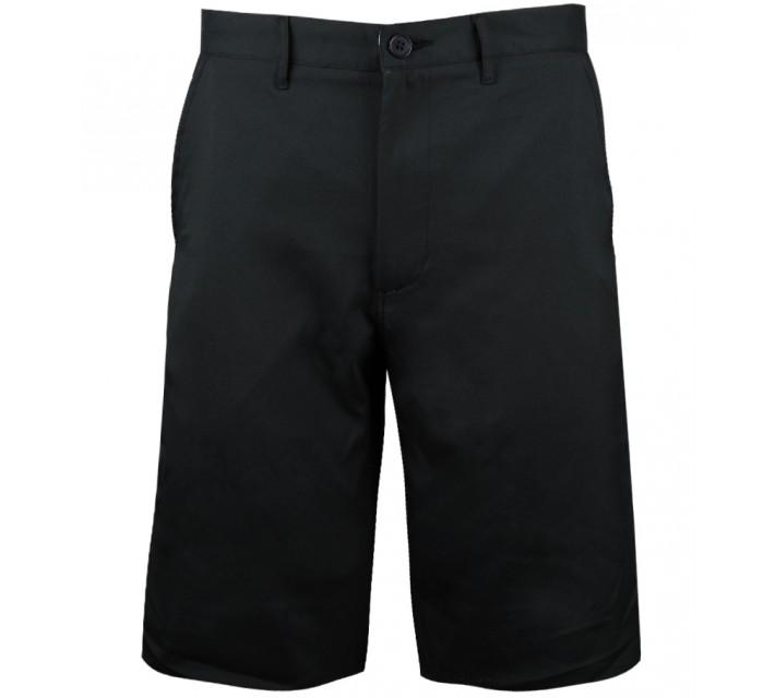MATTE GREY BADGE GOLF SHORT BLACK - CORE
