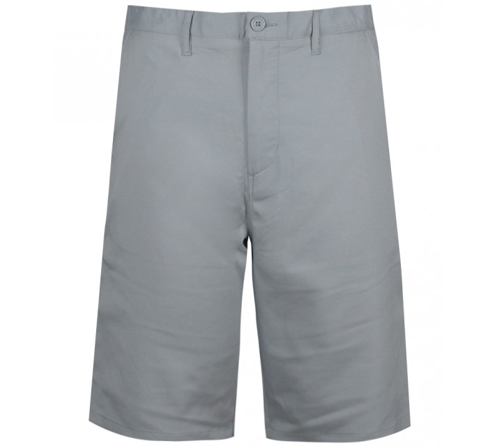 MATTE GREY BADGE GOLF SHORT LT GREY - CORE