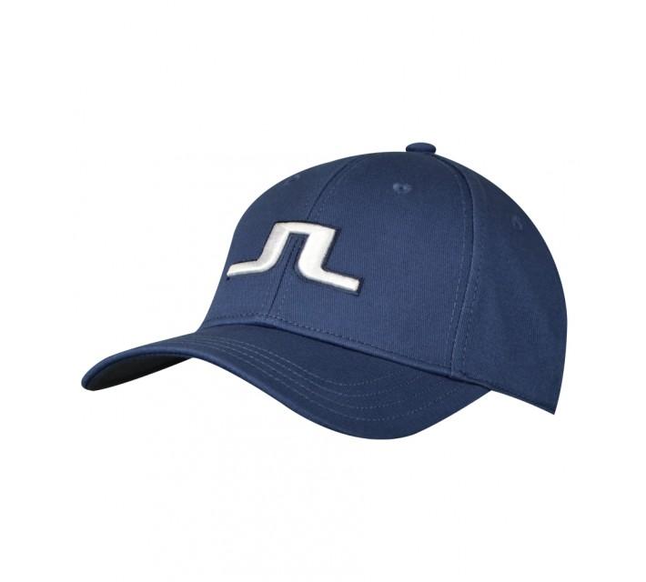 J. LINDEBERG BANJI FLEXI TWILL CAP BLUE - AW15