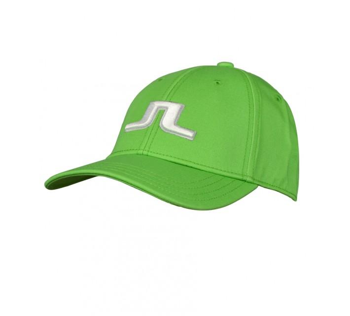 J. LINDEBERG BANJI FLEXI TWILL CAP GREEN INTENSE - SS16