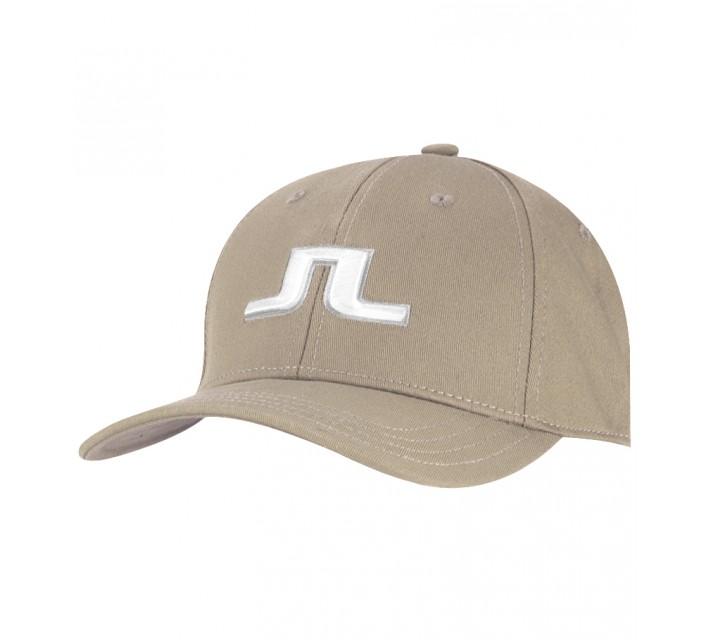J. LINDEBERG BANJI FLEXI TWILL CAP BEIGE - SS15