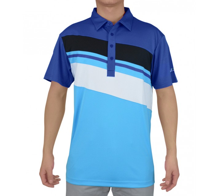 SLIGO GOLF SHIRT BANKS PATRIOT BLUE - SS15