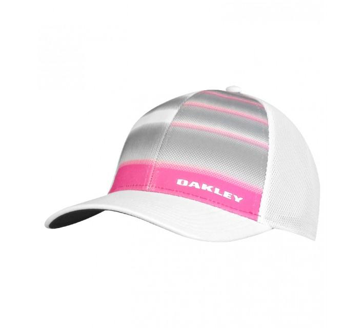 OAKLEY SILICON BARK TRUCKER 4.0 PRINT CAP FUCHSIA - SS15