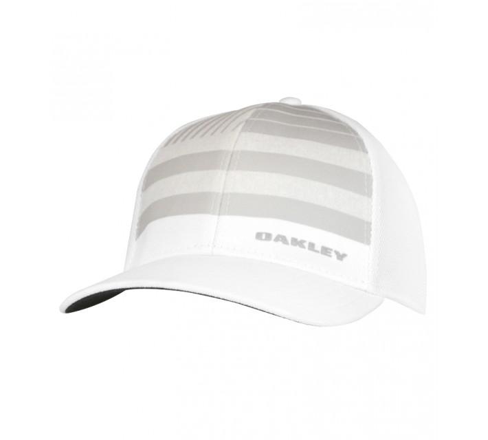 OAKLEY SILICON BARK TRUCKER 4.0 PRINT HAT WHITE - AW15