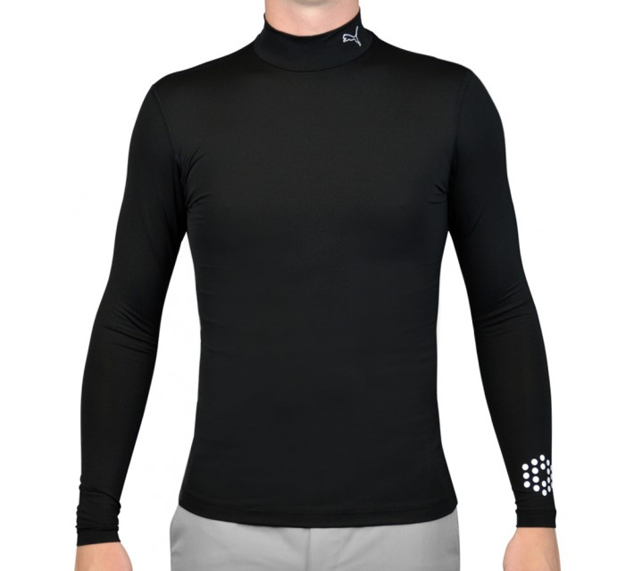 PUMA BASE LAYER MOCK BLACK - AW15