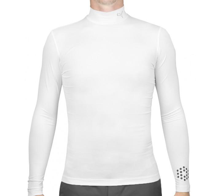 PUMA BASE LAYER MOCK BRIGHT WHITE - AW15