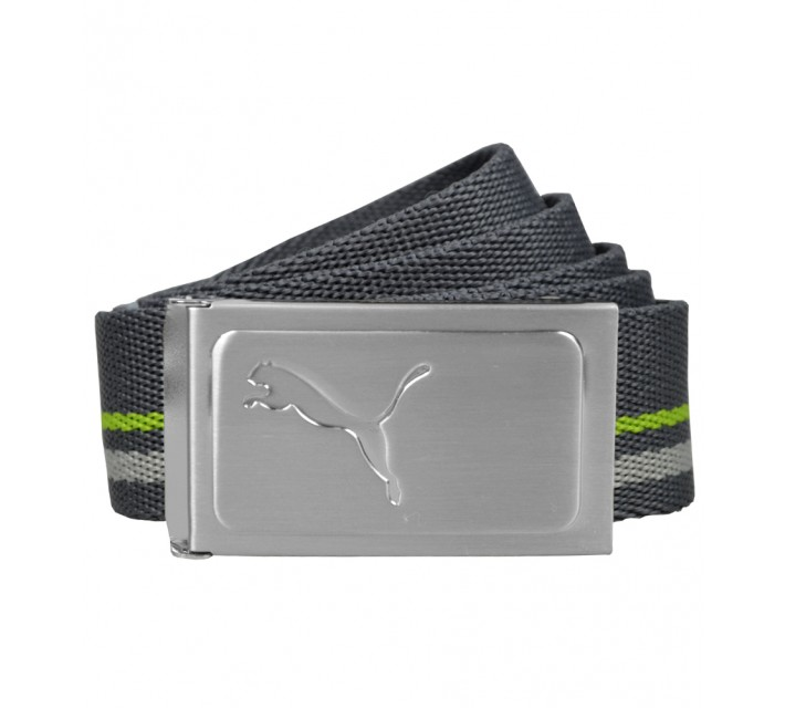 PUMA WORKS WEB BELT PERISCOPE/SHARP GREEN - AW16