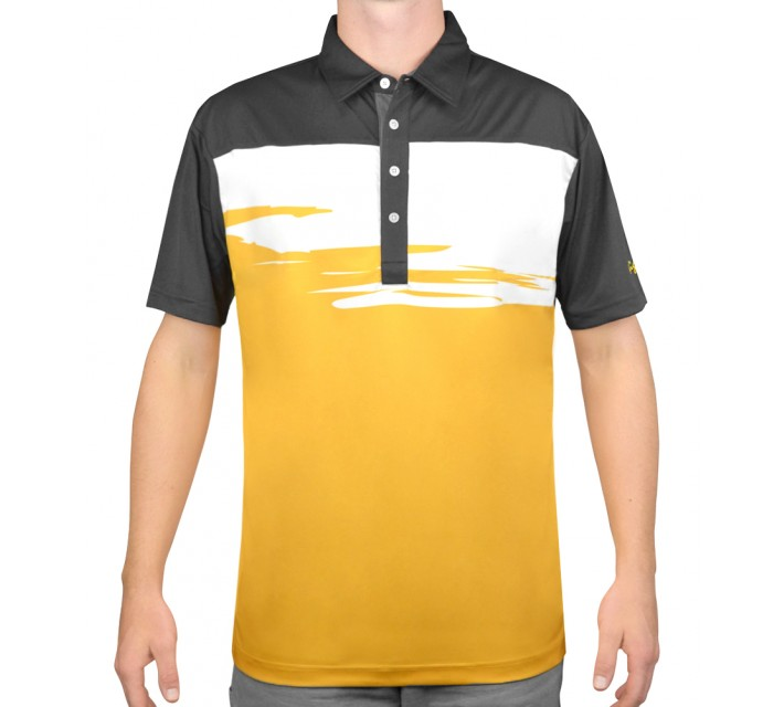 SLIGO GOLF SHIRT BENSON MIDNIGHT - AW15