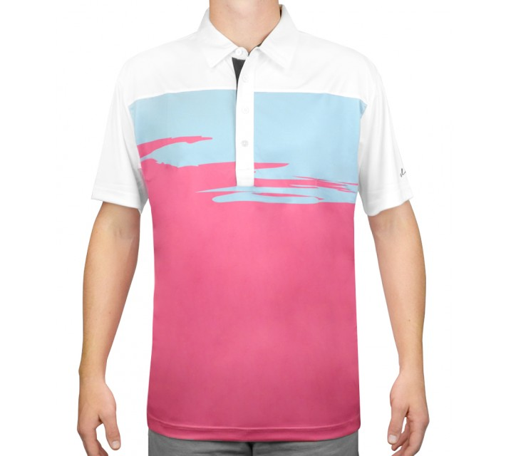 SLIGO GOLF SHIRT BENSON RAVE - AW15