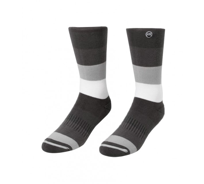 TRAVISMATHEW BIG RECS SOCKS HEATHER MAGNET - AW16