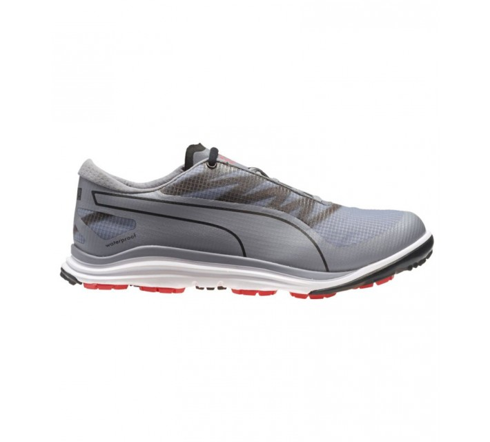 PUMA BIODRIVE GOLF SHOE QUICKSILVER/BLACK - SS16