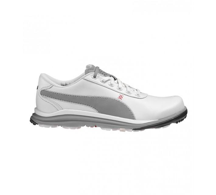 PUMA BIODRIVE LEATHER GOLF SHOE WHITE - SS16