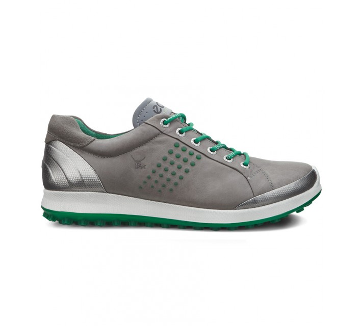 ECCO BIOM HYBRID 2 SHOE WARM GREY/PURE GREEN - SS16