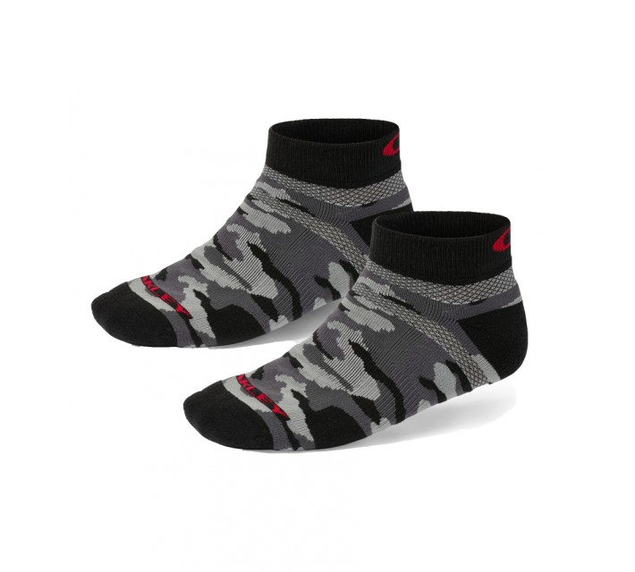 OAKLEY 2-PACK LOW-CUT SOCKS BLACK PRINT - SS16
